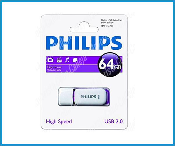 pendrive usb philips 64 gb
