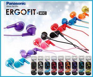 Auricular Panasonic RP HJE125EK Azul