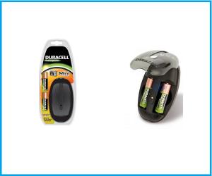 Mini Cargador Duracell +2 PILAS AA 1700