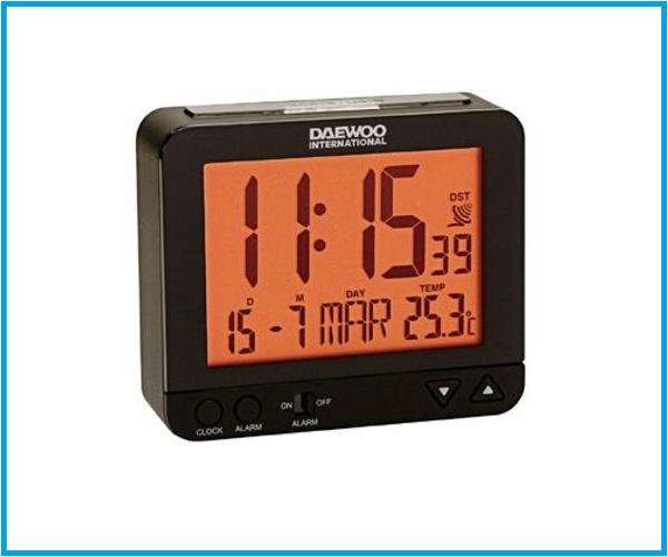 Reloj despertador DCD 200 Led