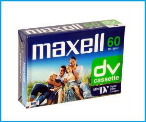 Cinta dvm 60 minutos Maxell