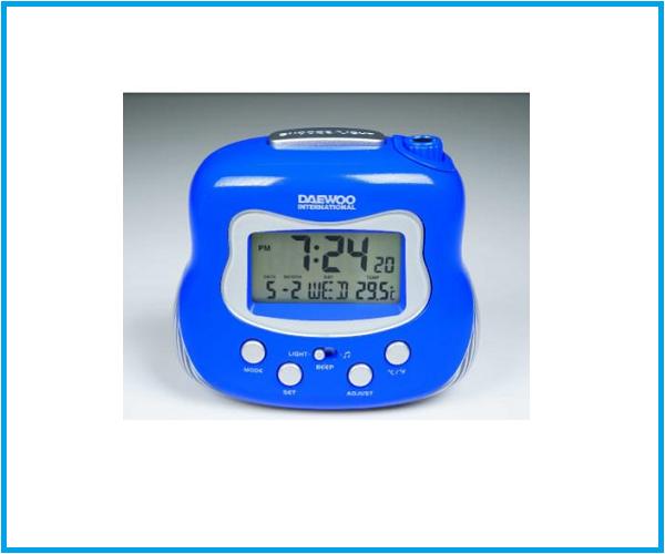 Radio Reloj Daewoo DCP 225