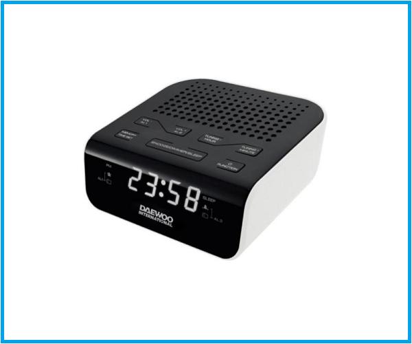Radio Reloj Daewoo DCR 46W