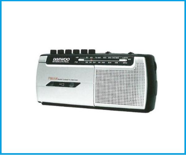 Radio Casset Daewoo DRP107