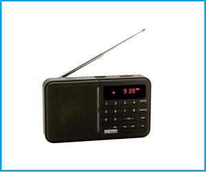 Radio Daewoo DRP122 (NEGRA)