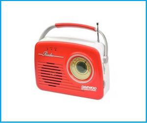 Radio Retro Daewoo DRP130