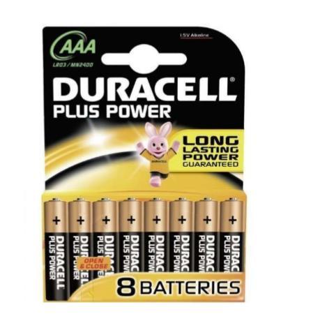 PILA DURACELL plus power AAA PILA DURACELL plus power AAA