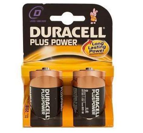 PILA DURACELL PLUS POWER LR20