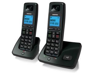 Teléfono Daewoo Dtd 4100 Duo color negro