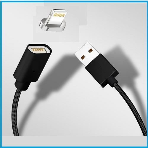 63fbcad16e2 Cable Magnético Iphone 7 negro - ELECTROBARAKA