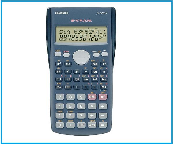 Calculadora Científica Casio Fx82ms