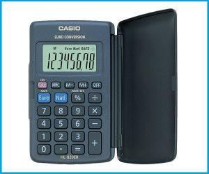 Calculadora Casio Bolsillo HL820VER