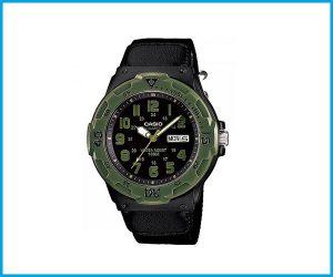 Reloj Casio MRW200 1DF verde negro