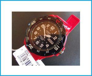 Reloj Casio MRW200 1DF rojo negro