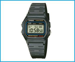 Reloj Casio W59 negro resistente al agua 50m