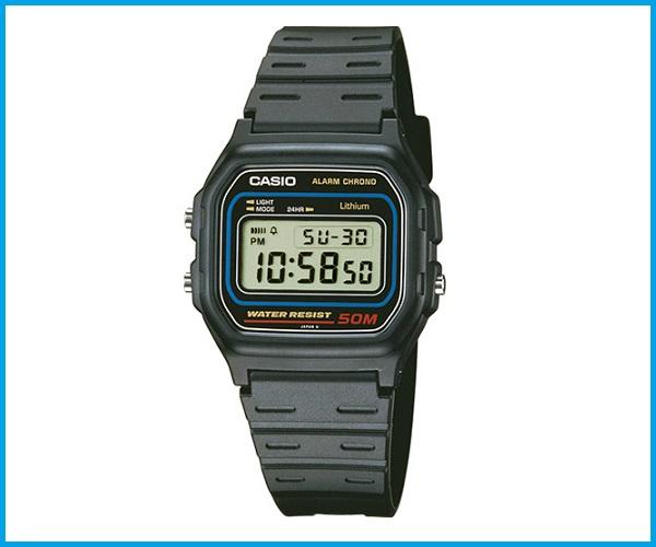 3a0a4dfc8 Reloj Casio W59 negro resistente al agua 50m - ELECTROBARAKA