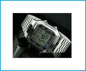 Reloj Casio A178WA 1DF plateado