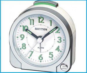 Despertador RHYTHM CRE231 PLATA
