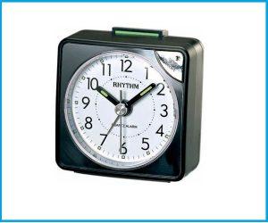 Despertador RHYTHM CRE210 Negro