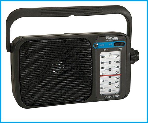Radio portátil daewoo DRP123