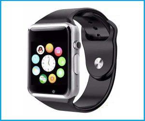 Reloj inteligente W8 color negro y blanco