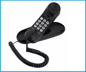 Teléfono Alcatel temporis mini slim negro