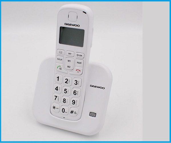 Daewoo Telefono Inalámbrico Teclas Gr DTD-7200W