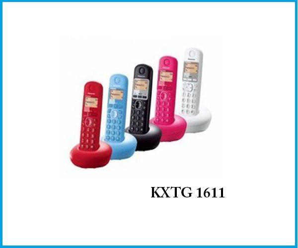 Teléfono panasonic KXTG1611 negro