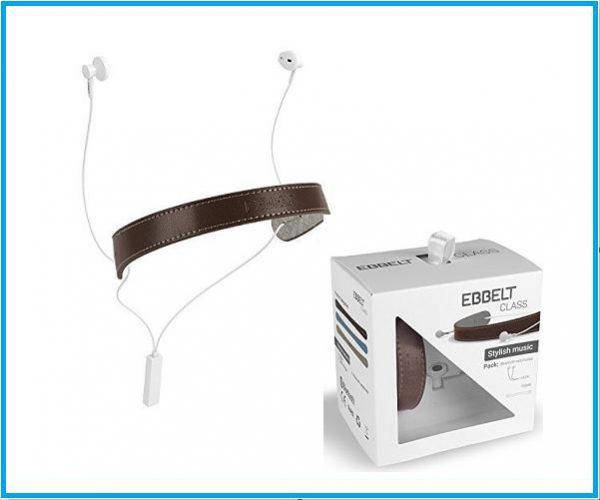 Auricular Bluetooth Ebbelt marrón