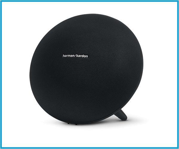 Altavoz redondo Onix color negro calidad de sonido