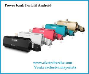 Bateria externa micro usb portátil