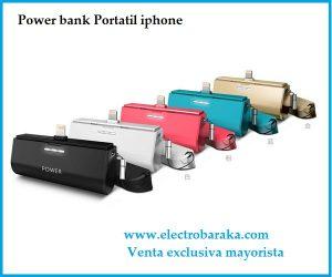 Bateria externa Iphone portátil