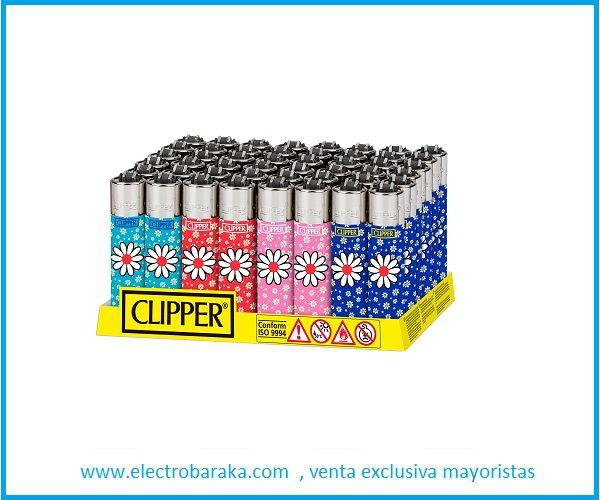 Mechero Clipper optcal weed precio por 48 unidades