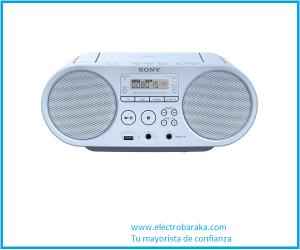 Radio CD con usb Sony Ps50 blanco