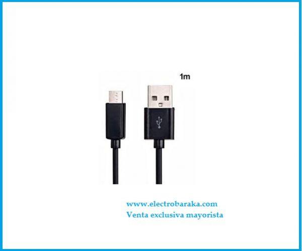 Cable 1 metro USB clavija micro usb